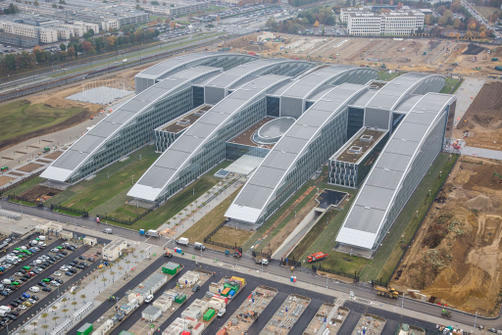 Architectural façade solutions for new NATO headquarters - 1