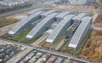 Architectural façade solutions for new NATO headquarters