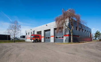 Fire stations get new look with cassette façade